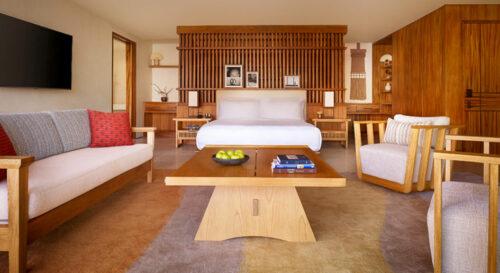 Nobu Hotel Los Cabos Sake Suite Bed