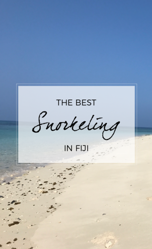 The Best Snorkeling in Fiji
