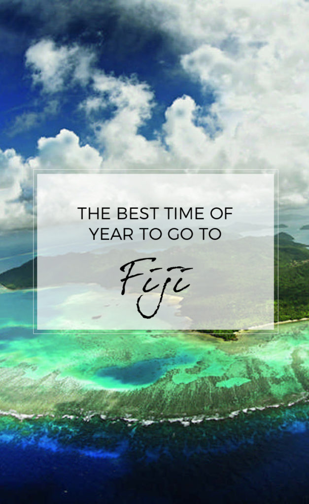 Best Time of Year to Go to Fiji