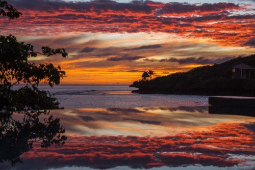 Savasi Island Resort Sunset